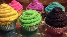 Cupcake bath bombs Regular size by SudsyTreatsBoutique on Etsy, $8.00