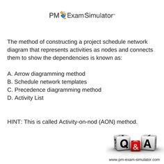 Free pmp exam sample question pmp pmpexam agile pinterest free pmp exam sample question of the week pmp pmpexam ccuart Images