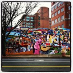 Mural on Hampshire Street  DiscoverArea4.com #street art
