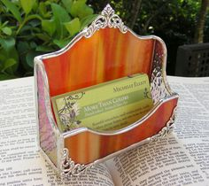 New Elite Business Card Holder by MoreThanColors on Etsy, $33.50