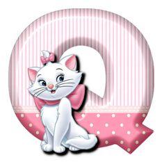 Q Cat Marie (Alphabets by Mónica Michielin)