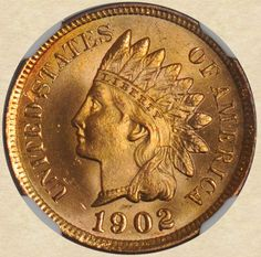 1902 Indian Head Cent ~ gorgeous!