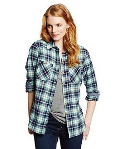 Dickies Women's Herringbone Flannel Shirt, Plaid Aqua Glow Evening Blue, Large Dickies http://www.amazon.com/dp/B00I1AII9G/ref=cm_sw_r_pi_dp_P89xub1TXM95P