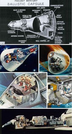 Spaceship cutaway shows remarkable simplicity