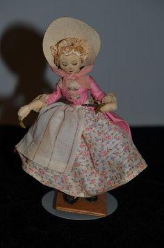 Vintage Doll Margaret Finch N.I.A.D.A. Cloth Doll W/ Tag