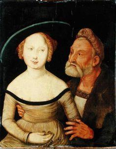 Hans Baldung Grien - Mercenary Love (1527) - Google Search