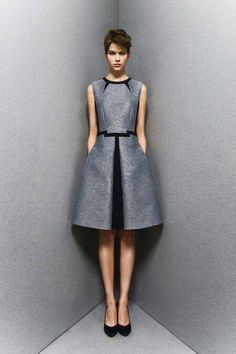Absolute elegance! Love the fabric and front shadow pleat.  Enjoy RushWorld boards,  UNPREDICTABLE WOMEN HAUTE COUTURE, HAT FASCINATOR OR DUMBFOUNDER? and WELCOME TO HELL HERE ARE YOUR SHOES.  Follow RUSHWORLD on Pinterest.  We're supportive and funny and we bring fresh content to your face every day!