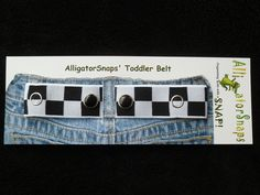 The ORIGINAL Snappy Snaps Checkered Flag by AlligatorSnaps on Etsy