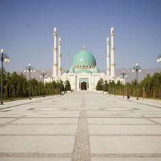 Ashgabat Mosque in Turkmenistan