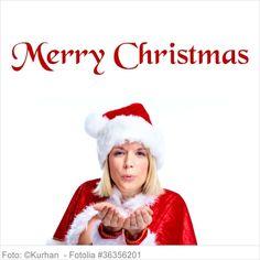 Wandtattoo Weihnachten - Merry Christmas - T02