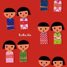 kokeshi  by del4yo by del4yo, via Flickr