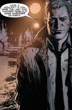 Hellblazer Comic, Constantine Hellblazer, John Constantine, Comic Movies, Superhero Movies, Vertigo, Marvel Dc Comics, Eminem, Comic Art
