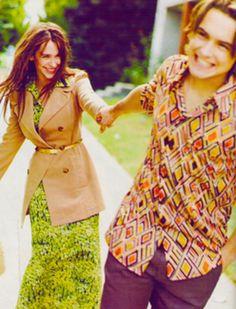 Jennifer Love Hewitt & Will Friedle in Seventeen, 1997