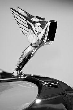 1931 Cord LeGrande Speedster Hood Ornament 5 - Jill Reger - Photographic prints for sale Car Badges, Car Logos, Cord Automobile, Auburn Automobile, Car Symbols, Car Bonnet, Car Hood Ornaments, Vw Vintage, Us Cars