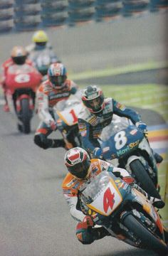 Gp france 98 500cc Crivillé Checa Doohan Biaggi