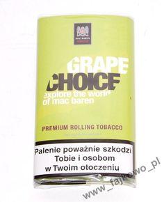 Tytoń papierosowy Mac Baren Grape Choice 40g - Sklep Fajkowo.pll - Fajki, E-papierosy, Cygara, Cygaretki, Tabaka