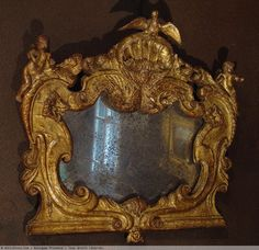 Italian Rococo Mirror | End of 16th century small italian mirror