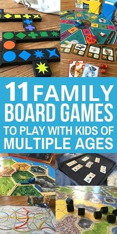 Family Night: Board games are a great way to reconnect as a family. Here are 11 of the best family board games that work for families with kids of multiple ages. Choose one for your next family game night! Best Family Board Games, Family Fun Games, Family Fun Night, Family Family, Family Activities, Family Boards, Family Bonding, Time Activities, Group Games