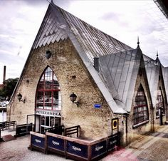 Even tho this is a fish market in Sweden I think it would make a fantastic house! The Beautiful Country, Beautiful Places, The Places Youll Go, Places To Go, Gothenburg Sweden, Sweden Travel, Beautiful Buildings, Stockholm, Norway