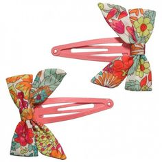 Liberty of London bow clips, a touch of elegance for every outfit