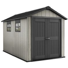 Keter Oakland 7 5â X 11â Customizable Outdoor Storage Shed Paintable