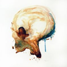 Steve Salo. Portrait of a Skull, 2013. Amadeo, 2013.