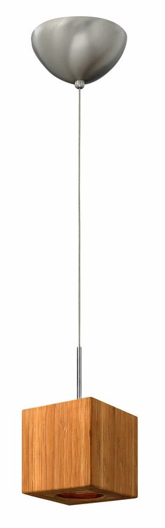 Bamboo mini pendant #LED