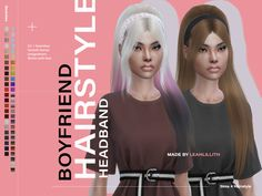 Boyfriend Hair Headband Found in TSR Category 'Sims 4 Female Hats' Sims 4 Mods Clothes, Sims 4 Clothing, Sims Mods, Sims 4 Tsr, Sims Cc, The Sims 4 Cabelos, Pelo Sims, Sims 4 Cc Shoes, Sims 4 Dresses