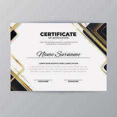 Modern diploma template | Free Vector #Freepik #freevector #certificate #school #template #diploma Certificate Layout, Birthday Certificate, Certificate Design Template, Ppt Template Design, Award Template, Certificate Of Appreciation, Certificate Of Achievement, Eid Stickers, Personal Achievements