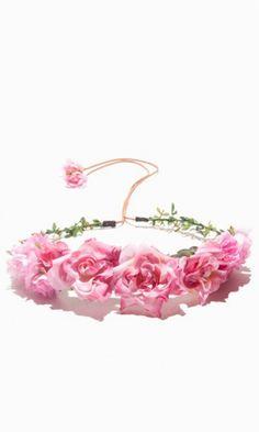 ROSA FLOWER CROWN