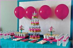 Large Size of Birthday Party Favors Kids Party Favor Ideas Butterfly Party Decorations For Adults Diy.home party decoration ideas simple theme ecza solinf co catpillow co.Shopkins birthday party supplies are… Birthday Party Snacks, Dessert Table Birthday, First Birthday Party Themes, Birthday Party Tables, 10th Birthday Parties, Snacks Für Party, Birthday Party Decorations, Girl Birthday, Birthday Ideas
