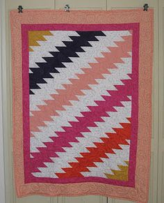 This is a quilt from a book by Debbie Caffrey.  Much easier than it looks and fun to make