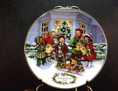 Perfect Harmony 1991 Christmas Plate Avon Collectibles Porcelain found at AutumnLeaves