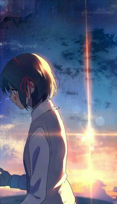 Kimi no Na wa / your name Anime Shojo, Fanarts Anime, Shoujo, Manga Anime, Anime Art, Gin Anime, I Love Anime, Me Me Me Anime, Film Animation Japonais