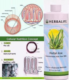 """Herbal Aloe~""""SHOWER on the inside"""".., the ♥BEST way to cleanse, detox and start helping your villi to regenerate! goherbalife.com/nutritionalley facebook.com/nutritionalley"""