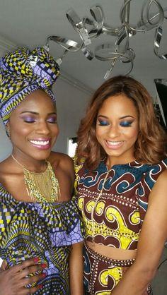 Makeup by me on those gourgeous afrikan beautys #Ghana #DyvaPlusMakeup