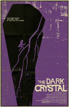 The Dark Crystal vintage style movie poster by TeamWelser on Etsy