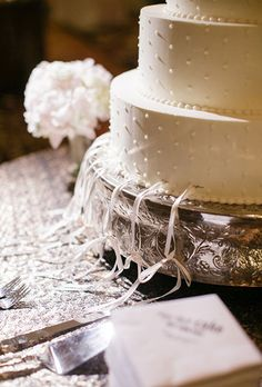 Brides.com: . Peru: All the Single Ladies. In Peruvian weddings, the cake is typically assembled with ribbons attached to charms, with one fake wedding ring embedded into the center. The single lady who is served the slice of cake with the fake wedding ring inside is crowned the next to get married.