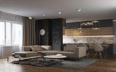 Warsaw Apartment on Behance