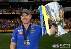 5 years ago today, this great man took over as coach of the West Coast Eagles Football Club. What a half decade it's been so far! 5 seasons 4 Finals Series 2 Grand Finals 1 Premiership Not bad for only 5 years at the helm. Well done, Simmo! Looking forward to the next 5!