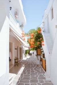 Complete travel guide to Paros, Greece. One of the prettiest Greek Islands found… Complete travel guide to Paros, Greece. One of the most beautiful Greek islands of the Cyclades Santorini Grecia, Paros Greece, Santorini House, Oh The Places You'll Go, Places To Travel, Places To Visit, Vacation Destinations, Dream Vacations, Vacation Trips