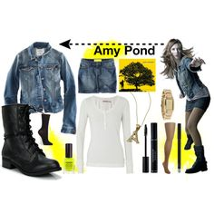 """""""Amy Pond VI"""" by emmielovesfashion on Polyvore"""