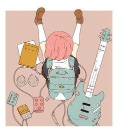 e-shuushuu kawaii and moe anime image board Pretty Art, Cute Art, Aesthetic Art, Aesthetic Anime, Manga Art, Anime Art, Arte Peculiar, Character Art, Character Design