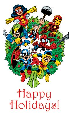 Image result for Merry Christmas Marvel comics