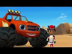 Blaze and the monster machines   The team truck challenge