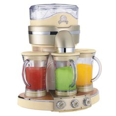 Margaritaville-Margarita-Maker_1  Can blend 3 different mixes at once - great party impresser