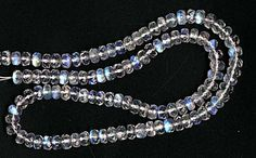 Moonstone Faceted Rondelles ($29.99)