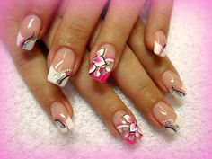 44 Cute and Easy Nail Designs | World inside pictures