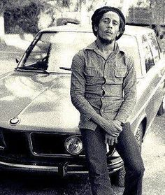 One of Bob's cars. The Land Rover was his favorite. He liked the BMW because he liked the fact it meant Bob Marley and the Wailers. BMW loves that!