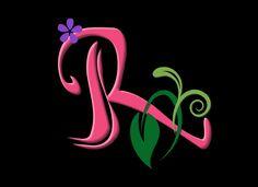 P alphabet in love